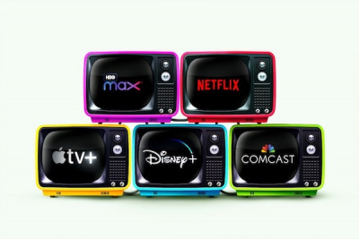 Streaming-Dienste Apple TV, Netflix, Disney, Amazon, Comcast, HD Max